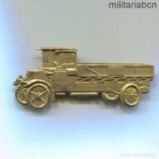 Militaria: INSIGNIA DE PECHO. CONDUCTOR DE CAMIÓN DE INTENDENCIA DEL EJÉRCITO. 1911. 76'50 X 34,50 MM.. Lote 144693344