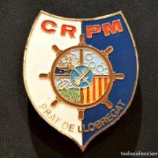 Militaria: INSIGNIA POLICIA MILITAR CAN RADAR CUARTEL EL PRAT DEL LLOBREGAT BARCELONA. Lote 209850022