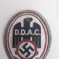 Militaria: ANTIGUA CHAPA EMBLEMA INSIGNIA PLACA MILITAR NAZI ESVASTICA. Lote 210374341