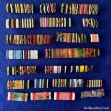 Militaria: COLECCIÓN DE PASADORES ALEMANES DIVERSAS CONDECORACIONES. Lote 213515118