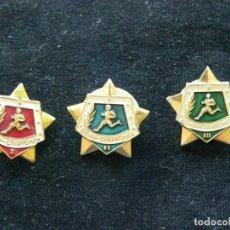 Militaria: URSS LOTE DE 3 DISTINTIVOS DEPORTIVOS DE EJERCITO SOVIÉTICO. Lote 213744161