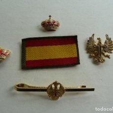 Militaria: VARIAS INSIGNIAS DEL EJERCITO ESPAÑOL. Lote 213869750