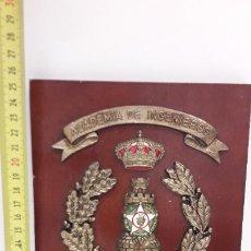 Militaria: METOPA COLEGIO DE INGENIEROS BURGOS. Lote 214311256