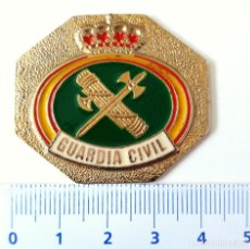 Militaria: GUARDIA CIVIL. PLACA OCTOGONAL.. Lote 214425023