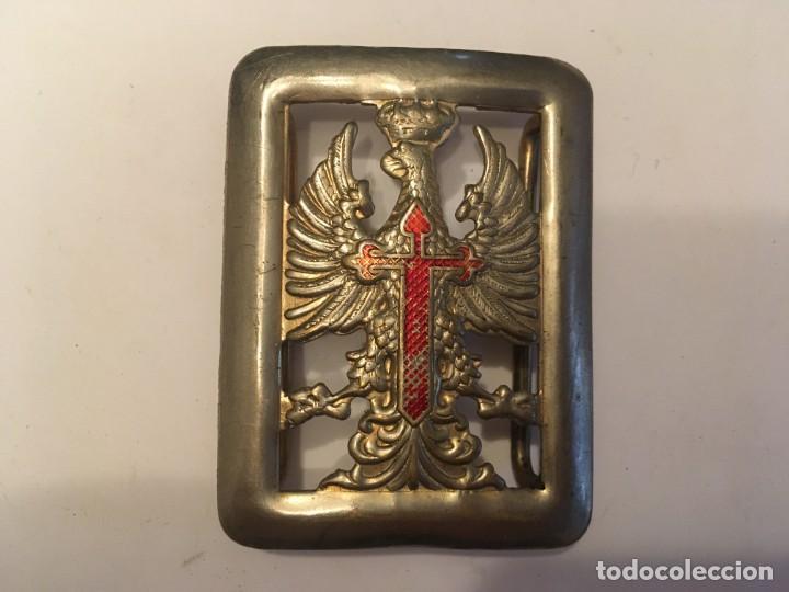 Militaria: hebilla cinturon militar español ejercito de tierra - Foto 2 - 214532060