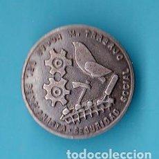 Militaria: INSIGNIA HOGAR DEL PENSIONISTA. SEGURIDAD SOCIAL. MINISTERIO DE TRABAJO.. Lote 21449533