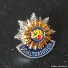 Militaria: PIN UDALTZAINGOA ( POLICIA LOCAL ) EUSKADI / ACTUAL. Lote 215715031