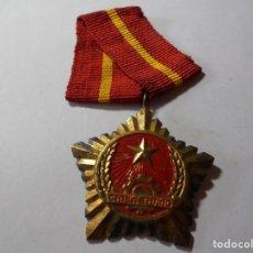 Militaria: MAGNIFICA ANTIGUA MEDALLA DEL VITNAM. Lote 216019045