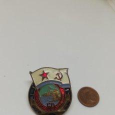 Militaria: INSIGNIA ARMADA RUSA/SOVIÉTICA ESMALTADA. Lote 217695532