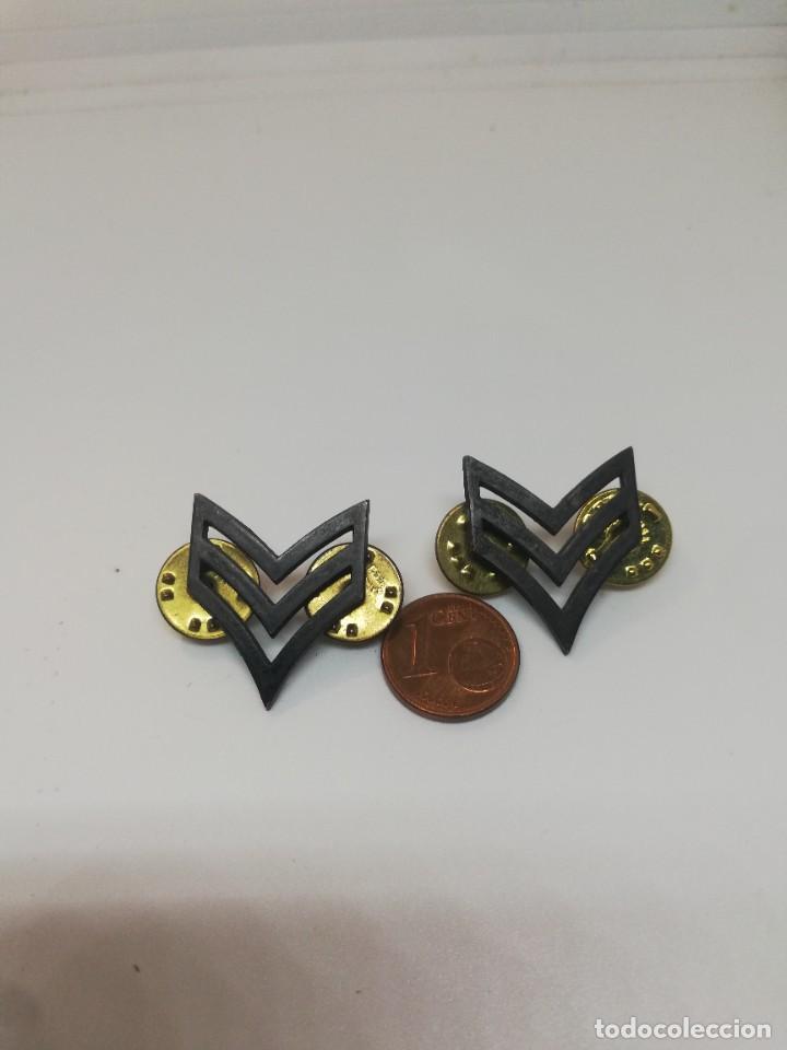 DOS GALONES CABO USA (Militar - Insignias Militares Internacionales y Pins)
