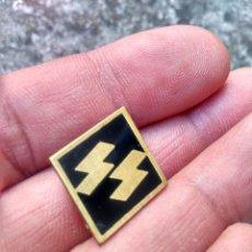 Militaria: SEGUNDA GUERRA MUNDIAL - SERVICIO SECRETO DE LA SS NAZI - ANTIGUA INSIGNIA DE ALFILER. Lote 217842776