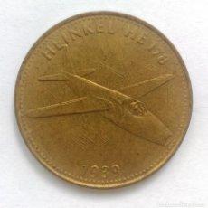 Militaria: MONEDA, MEDALLA DE MANO, SHELL, HEINKEL, 1939. Lote 218296260