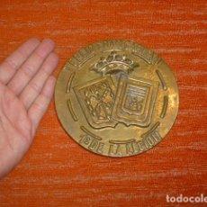Militaria: ANTIGUA GRAN PLACA DE BRONCE DEL TERCIO GRAN CAPITAN 1ERO DE LA LEGION ESPAÑOLA, ORIGINAL.. Lote 218545440
