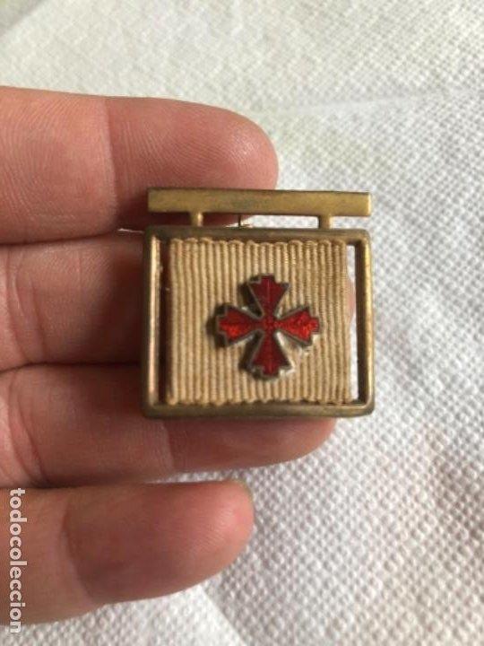 ANTIGUO IMPERDIBLE CREO QUE MILITAR (Militar - Insignias Militares Españolas y Pins)
