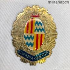 Militaria: PLACA DE CARTERA DE LA GUARDIA URBANA DE BADALONA. ÉPOCA JUAN CARLOS I.. Lote 220476856