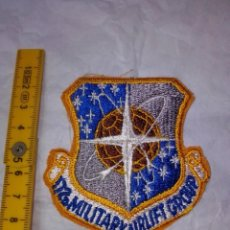 Militaria: PARCHE US AIR FORCE 172TH MILITARY AIRLIFT GROUP. Lote 220565288