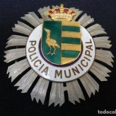 Militaria: ANTIGUA PLACA DE PECHO DE LA POLICIA MUNICIPAL DE PARLA (MADRID).. Lote 221947498