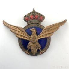 Militaria: INSIGNIA. ALAS AVIACIÓN CIVIL ESPAÑOLA. DOS ALTURAS. Lote 222116003