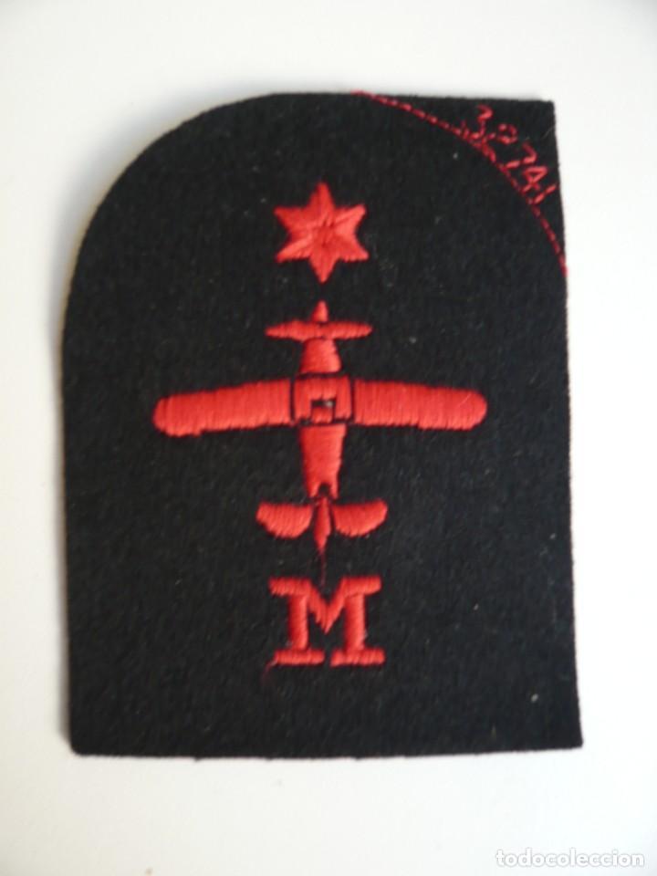 CONJUNTO DE SEIS ESPECIALIDADES DE LA MARINA BRITANICA...BORDADAS..AÑOS 90...ORIGINALES. (Militar - Insignias Militares Internacionales y Pins)