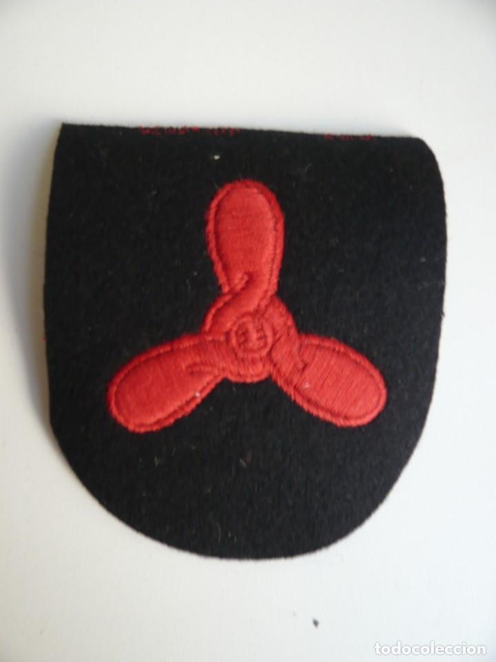 Militaria: Conjunto de seis especialidades de la Marina Britanica...Bordadas..años 90...Originales. - Foto 3 - 224367502