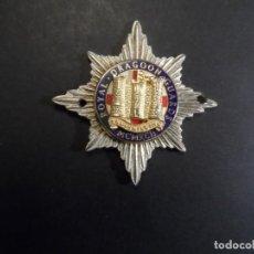 Militaria: INSIGNIA DE GORRA ROYAL DRAGOON GUARDS. GRAN BRETAÑA. OFICIALES. AÑO 1992. Lote 224751772