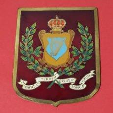 Militaria: PLACA CHAPA ESMALTADA DEL EJERCITO ESPAÑOL. Lote 226684035