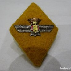 Militaria: ANTIGUO EMBLEMA, ROMBO DE TELA E INTERIOR RÍGIDO DEL CUERPO JURÍDICO DEL EJÉRCITO DEL AIRE. Lote 226693260