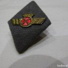 Militaria: ANTIGUO EMBLEMA, ROMBO DE TELA E INTERIOR RÍGIDO DE PILOTO DEL EJÉRCITO DEL AIRE. Lote 226693910