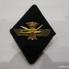 Militaria: ANTIGUO EMBLEMA, ROMBO DE TELA E INTERIOR RÍGIDO DE INGENIERO AERONÁUTICO DEL EJÉRCITO DEL AIRE. Lote 226694470