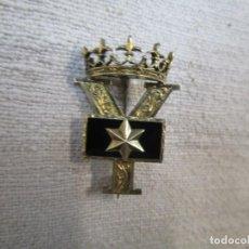 Militaria: ANTIGUA INSIGNIA VIUDA ALFEREZ PROVISIONAL - GUERRA CIVIL - FALANGE - SECCIÓN FEMENINA, EXCELENTE +. Lote 194239791