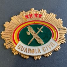Militaria: INSIGNIA PARA PLACA GUARDIA CIVIL 7X5 CM. Lote 228593815