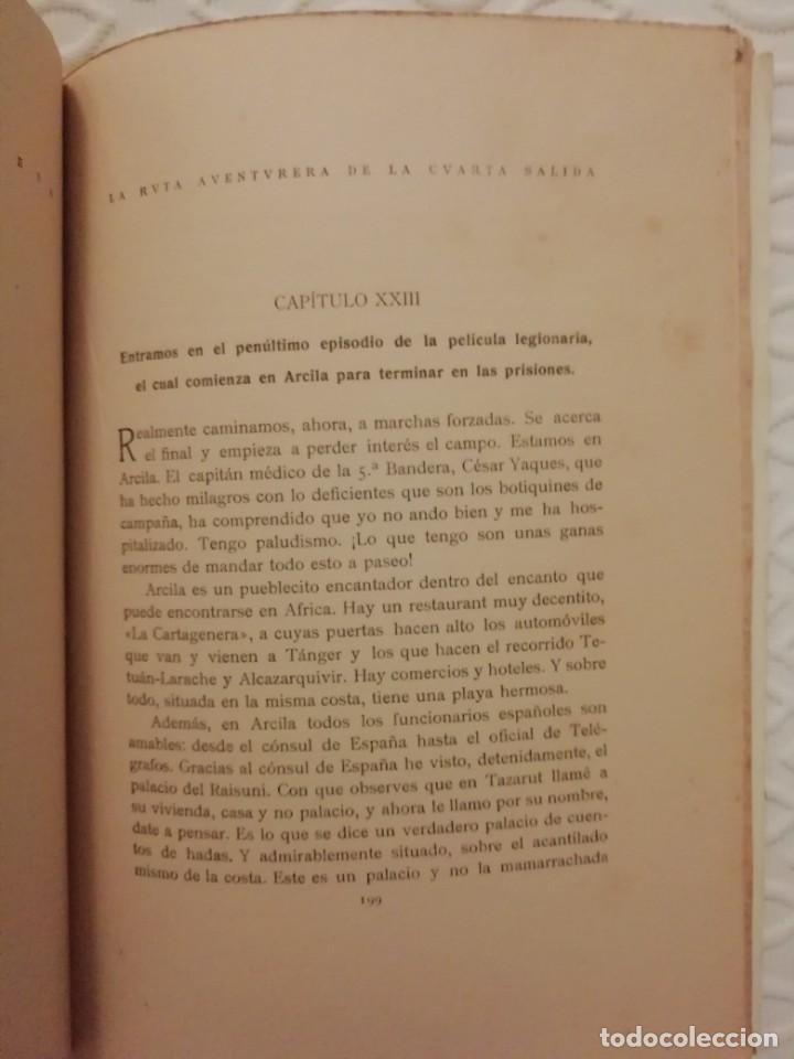 Militaria: Legion. Antiguo libro Millán Astray . Impresionante!!! - Foto 5 - 229744275