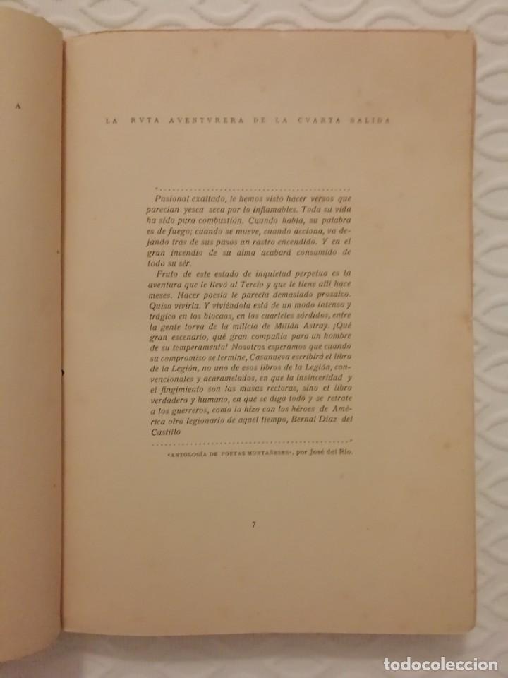 Militaria: Legion. Antiguo libro Millán Astray . Impresionante!!! - Foto 3 - 229744275