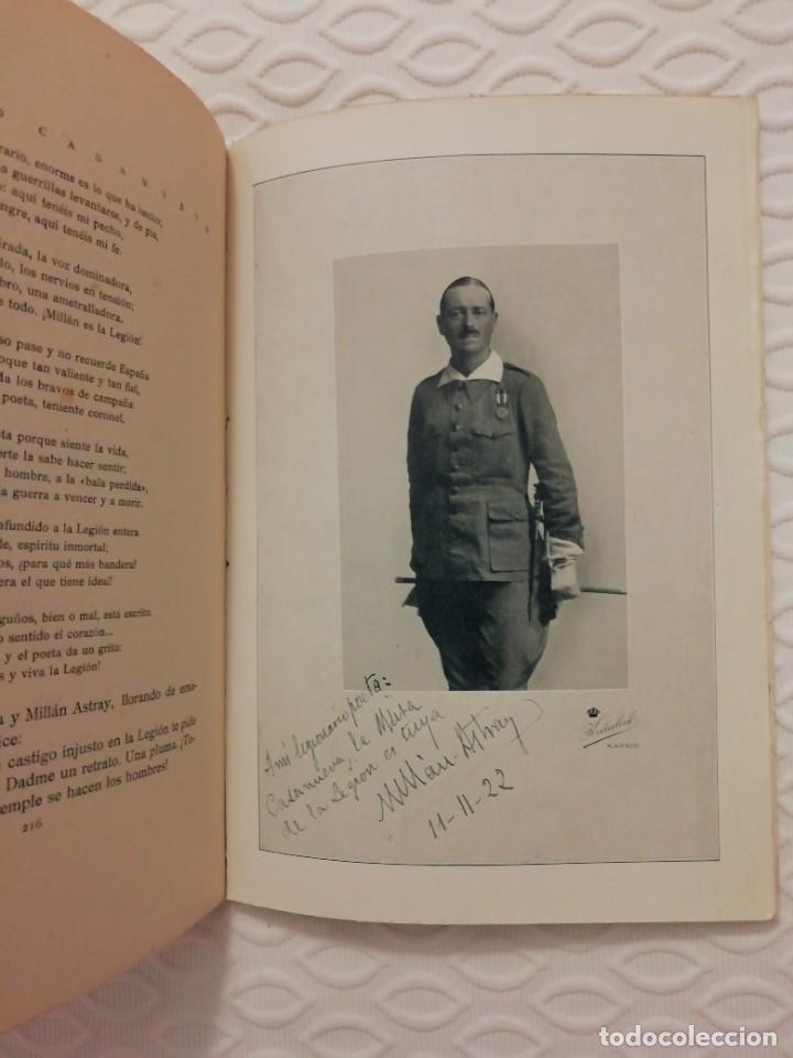 Militaria: Legion. Antiguo libro Millán Astray . Impresionante!!! - Foto 2 - 229744275