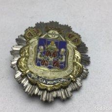 Militaria: SEVILLA PLACA POLICIA MUNICIPAL - PLACA DE PECHO. Lote 229887260