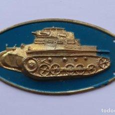 Militaria: INSIGNIA PECHO CARROS COMBATE CABALLERIA PANZER I CARRISTA TANQUE. Lote 230312505