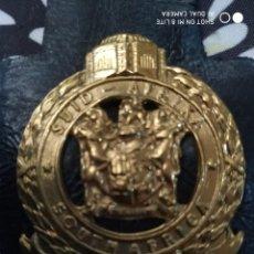 Militaria: PLACA DE LA POLICIA DE SUDAFRICA. DISTINTIVO POLICIAL AFRICA. Lote 231384175