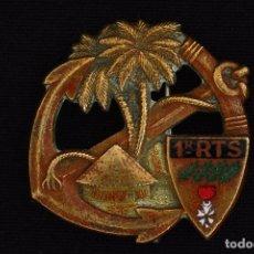 Militaria: INSIGNIA-DISTINTIVO PRIMER REGIMIENTO TIRADORES SENEGALESES. Lote 231523870