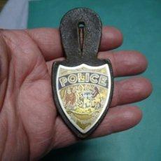 Militaria: EMBLEMA DE POLICIA SAINT GHISLAIN BELGICA. Lote 233571900