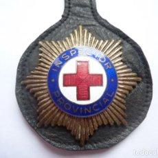Militaria: CRUZ ROJA ESPAÑOLA - PLACA DE INSPECTOR PROVINCIAL - DISTINTIVO. Lote 234387620
