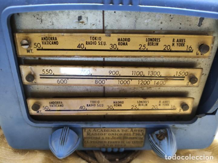 Militaria: Radio regalo a un mando de Frente juventudes - Foto 7 - 234646065