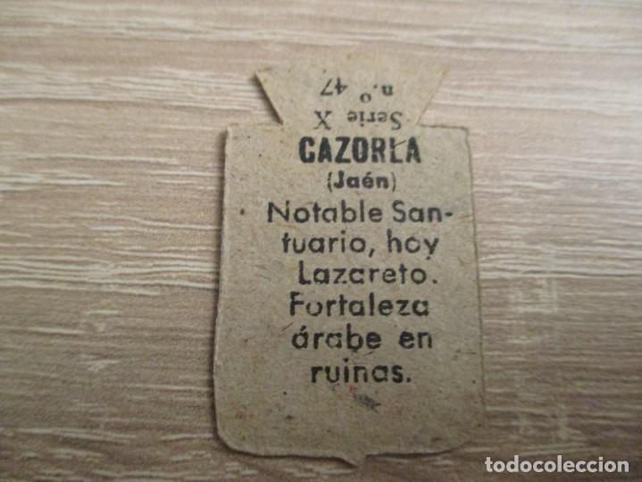 Militaria: AUXILIO SOCIAL EMBLEMA 30 CTS. SERIE: X.- Nº 47.- CAZORLA. (CATALOGADO) - Foto 2 - 234784670