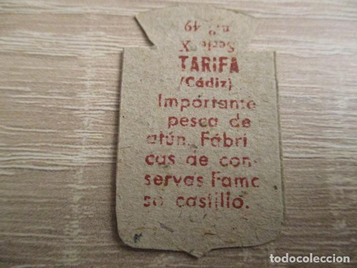 Militaria: AUXILIO SOCIAL EMBLEMA 30 CTS. SERIE: X.- Nº 49.- TARIFA. (CATALOGADO) - Foto 2 - 234784725