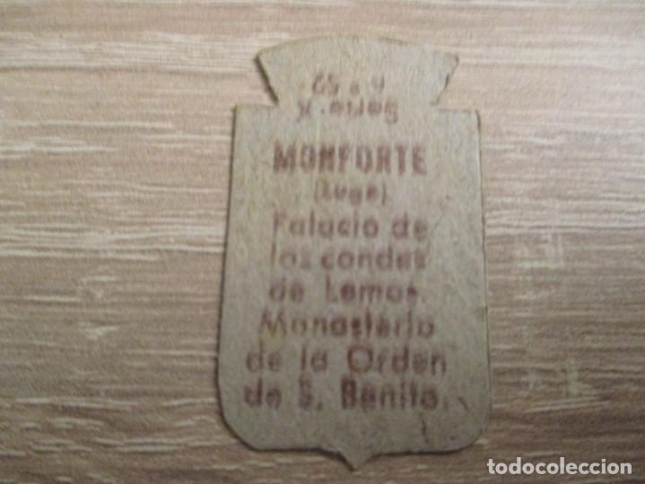 Militaria: AUXILIO SOCIAL EMBLEMA 30 CTS. SERIE: X.- Nº 52.- MONFORTE. (CATALOGADO) - Foto 2 - 234784785