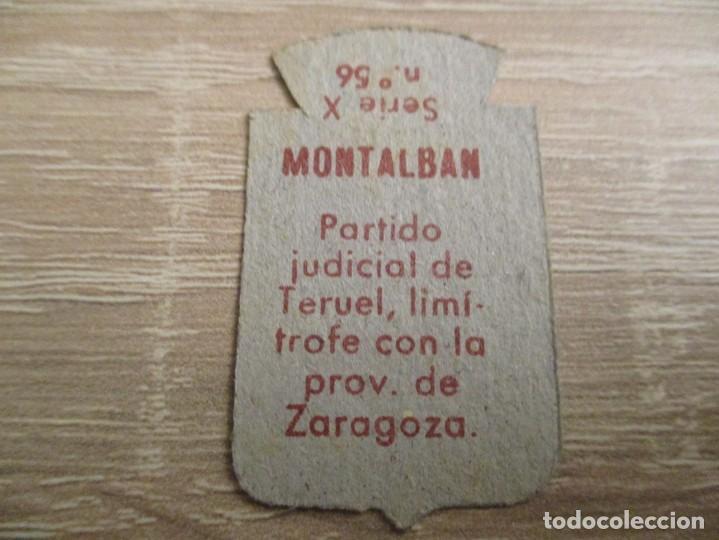 Militaria: AUXILIO SOCIAL EMBLEMA 30 CTS. SERIE: X.- Nº 56.- MONTALBAN. (CATALOGADO) - Foto 2 - 234784835