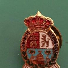Militaria: PIN CON HERÁLDICA DEL GABINETE LITERARIO DE LAS PALMAS.. Lote 235270965
