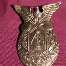 Militaria: EMBLEMA ACADEMIA AMERICANA FILIPINA. Lote 235363205