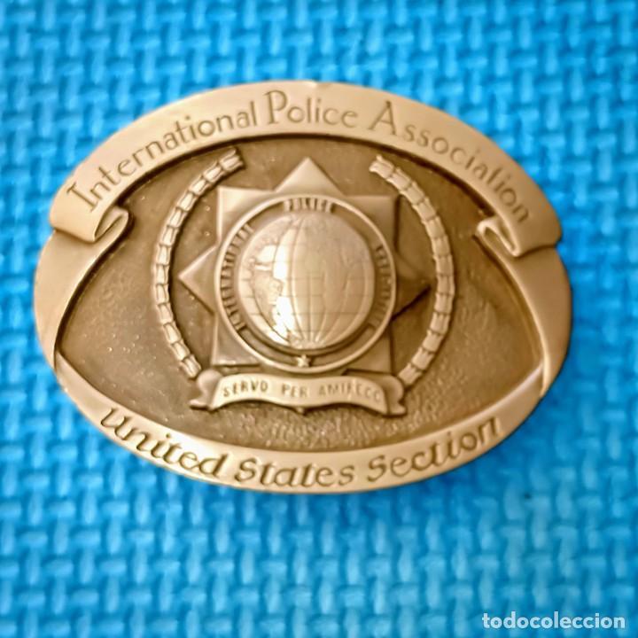 INSIGNIA INTERNATIONAL POLICE ASSOCIATION UNITED STATES SECTION (Militar - Insignias Militares Internacionales y Pins)