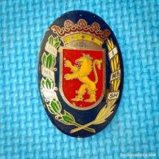 Militaria: ANTIGUA PLACA DE LA POLICIA LOCAL DE ZARAGOZA. Lote 235580725