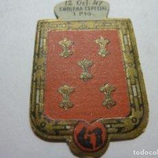 Militaria: AUXILIO SOCIAL.EMBLEMA ESPECIAL 30 CTMOS.. SERIE C Nº 10 HERNAN PEREZ DE ALDANA. Lote 236169920